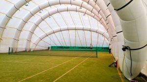 copertura sportiva impianti da tennis