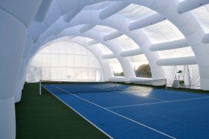 copertura per campo da tennis