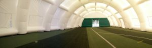 struttura gonfiabile gigante per impianti sportivi
