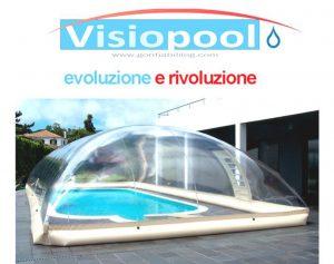 Copertura per piscina cristal