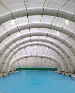 copertura per piscina