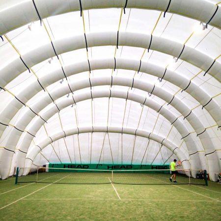 copertura gonfiabile per il tennis